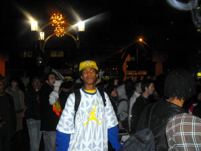 Thug Protest